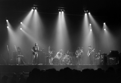 A live performance of The Dark Side of the Moon at Earls Court, shortly after its release in 1973