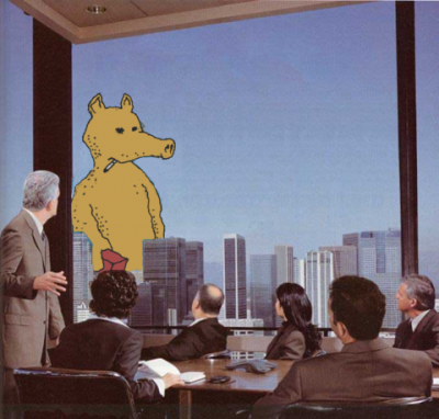 Quasimoto pimpin up the financial districts